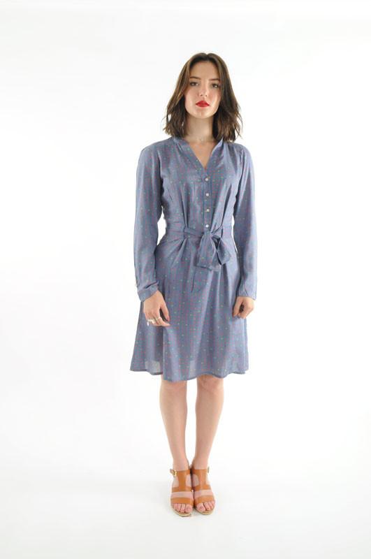 Robe 14 dress bleu