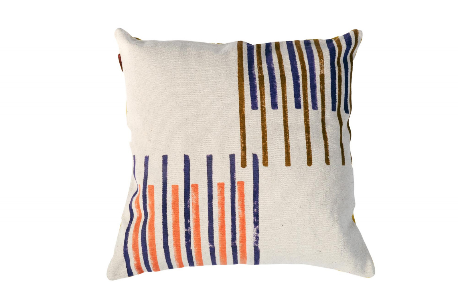 COUSSIN 50x50 CHANDIGARH / blue stripes
