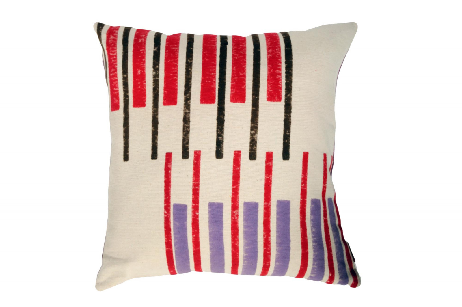 COUSSIN 50x50 CHANDIGARH / grenadine stripes