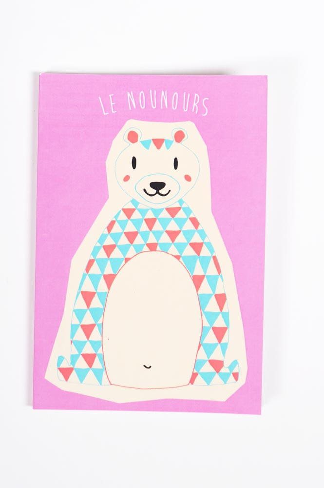 CARNET A5 OURS