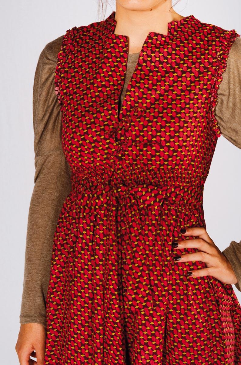 Robe Class coton SARA
