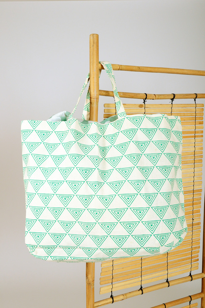 TOTE BAG BIG / MINT