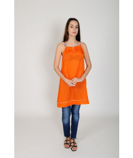 ROBE TUNIQUE FANNY / tangerine