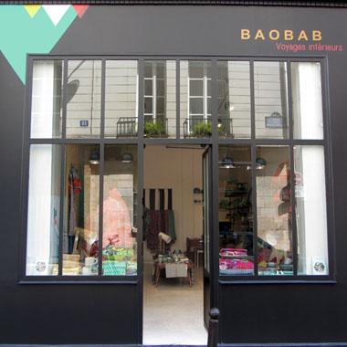les boutiques baobab. Black Bedroom Furniture Sets. Home Design Ideas