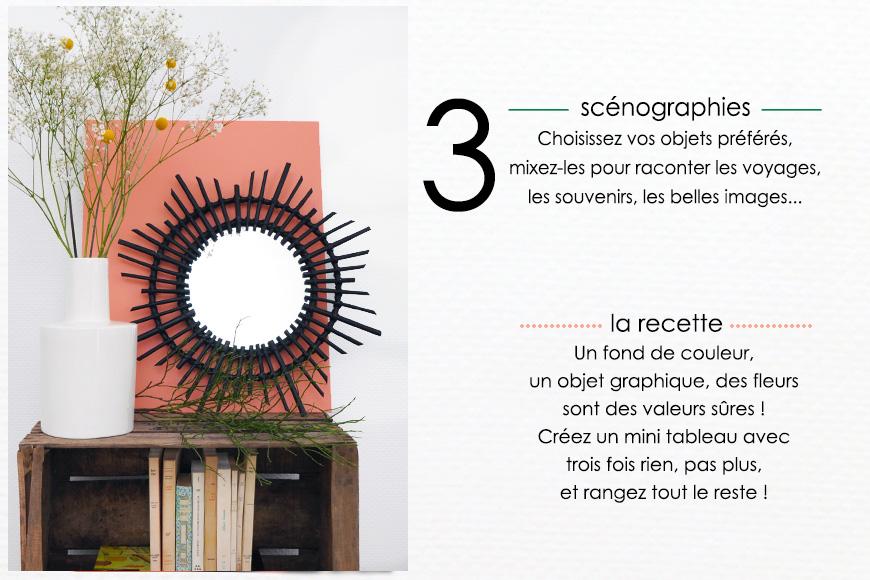 Scénographies : objet, graphique, couleur, voyage