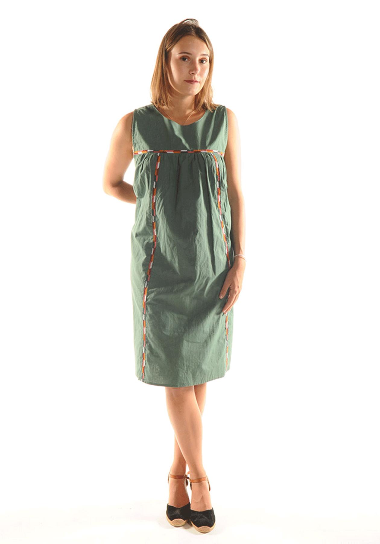 Robe JULIANA / Vert d'eau