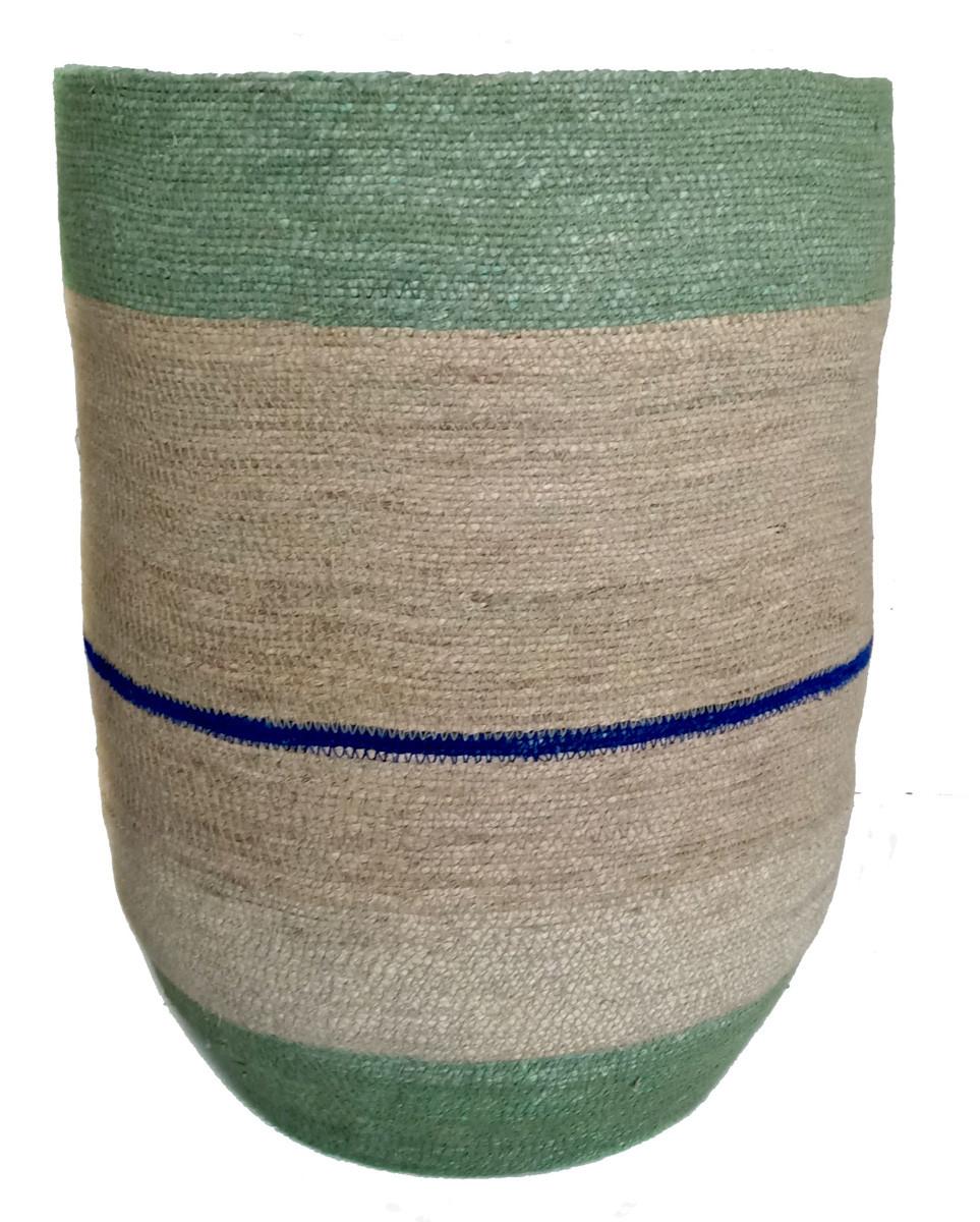Grande Panière XL Vase Green