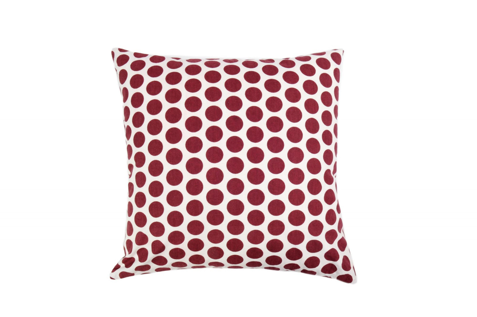 COUSSIN 50x50 DOTTY GRENAT