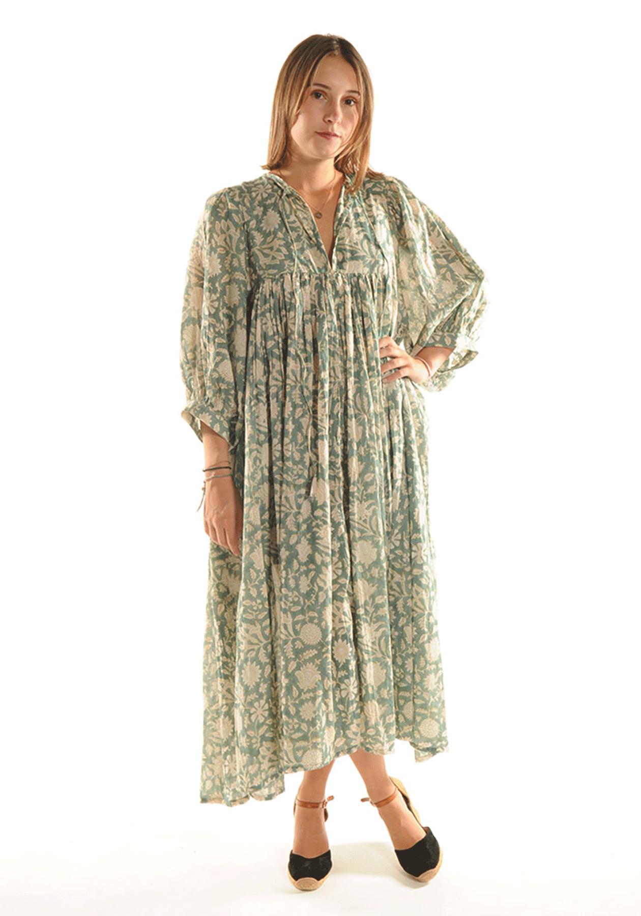 Robe ANGY / Vert d'eau