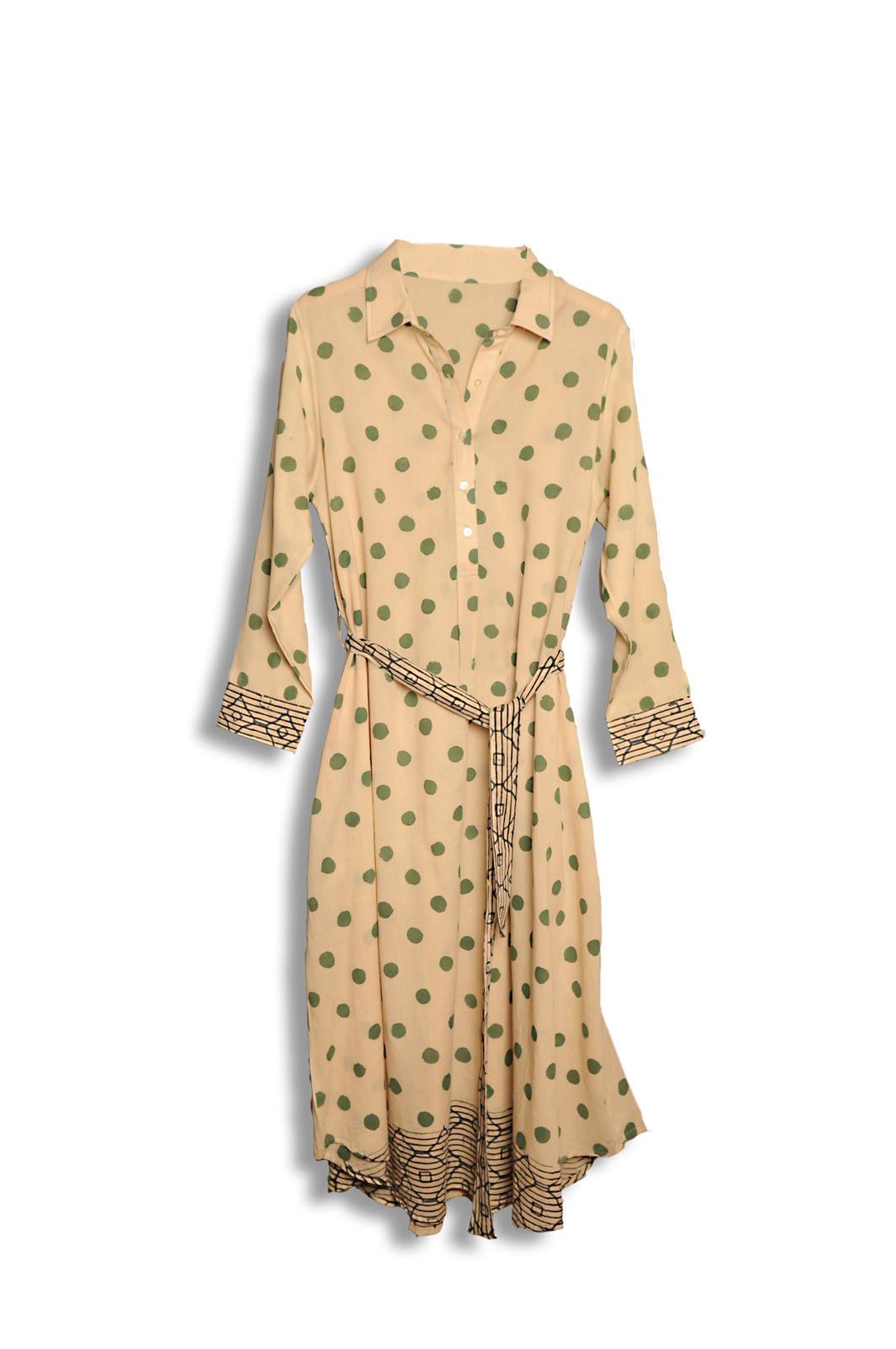 Robe ELLIA / vert olive