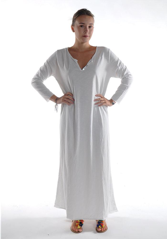 Robe longue ZINA / Écru