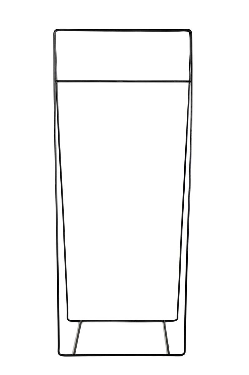 PORTANT 75cm EN FER FORGÉ