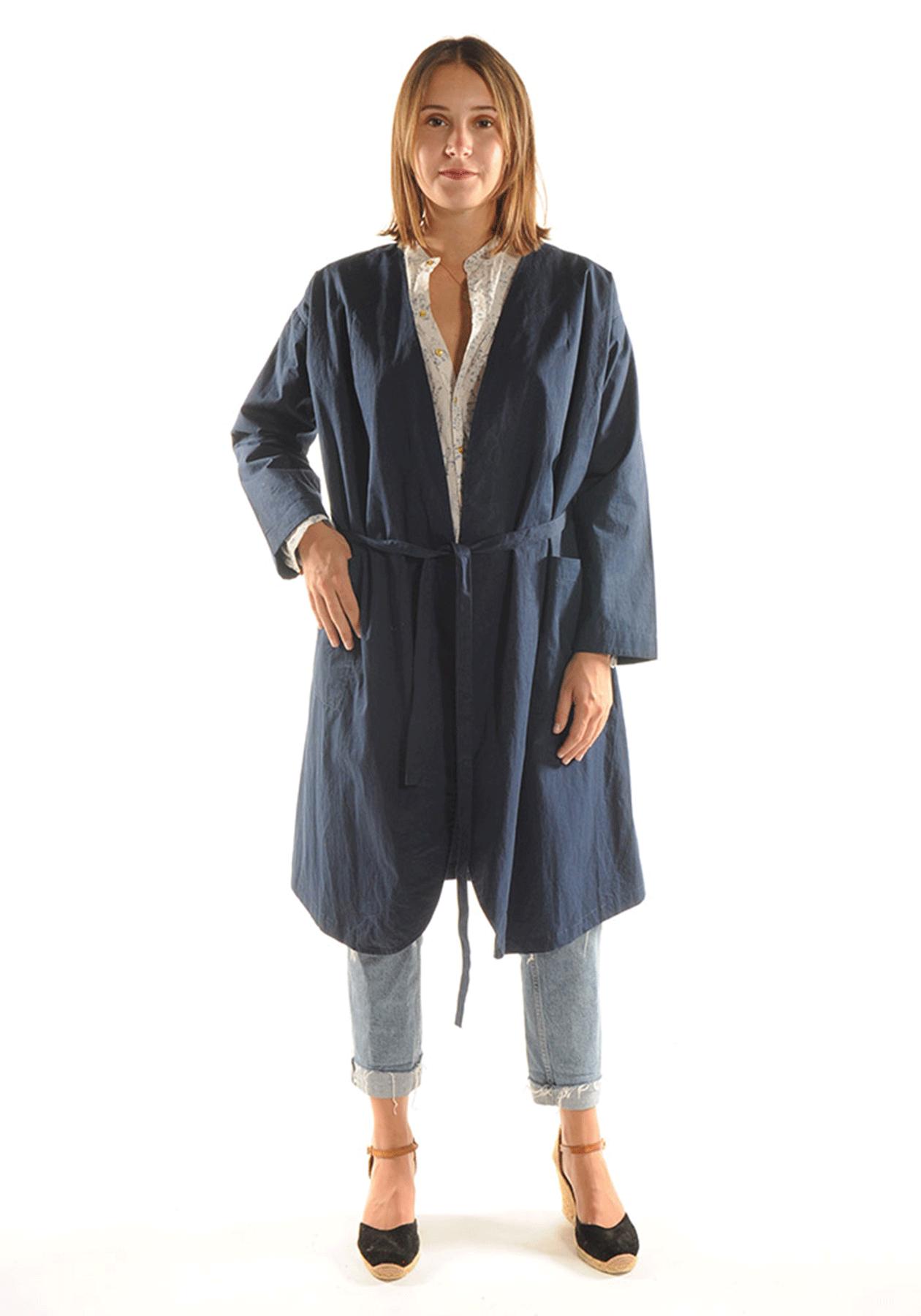 Kimono KYHYNA / Bleu nuit