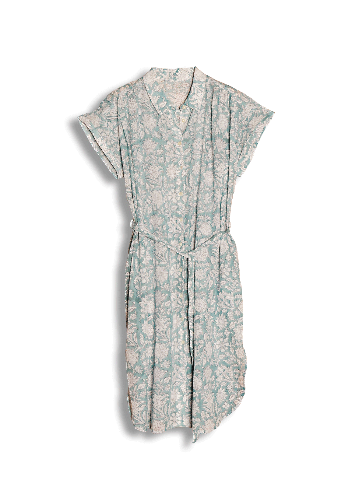 Robe SABINA / Vert granit