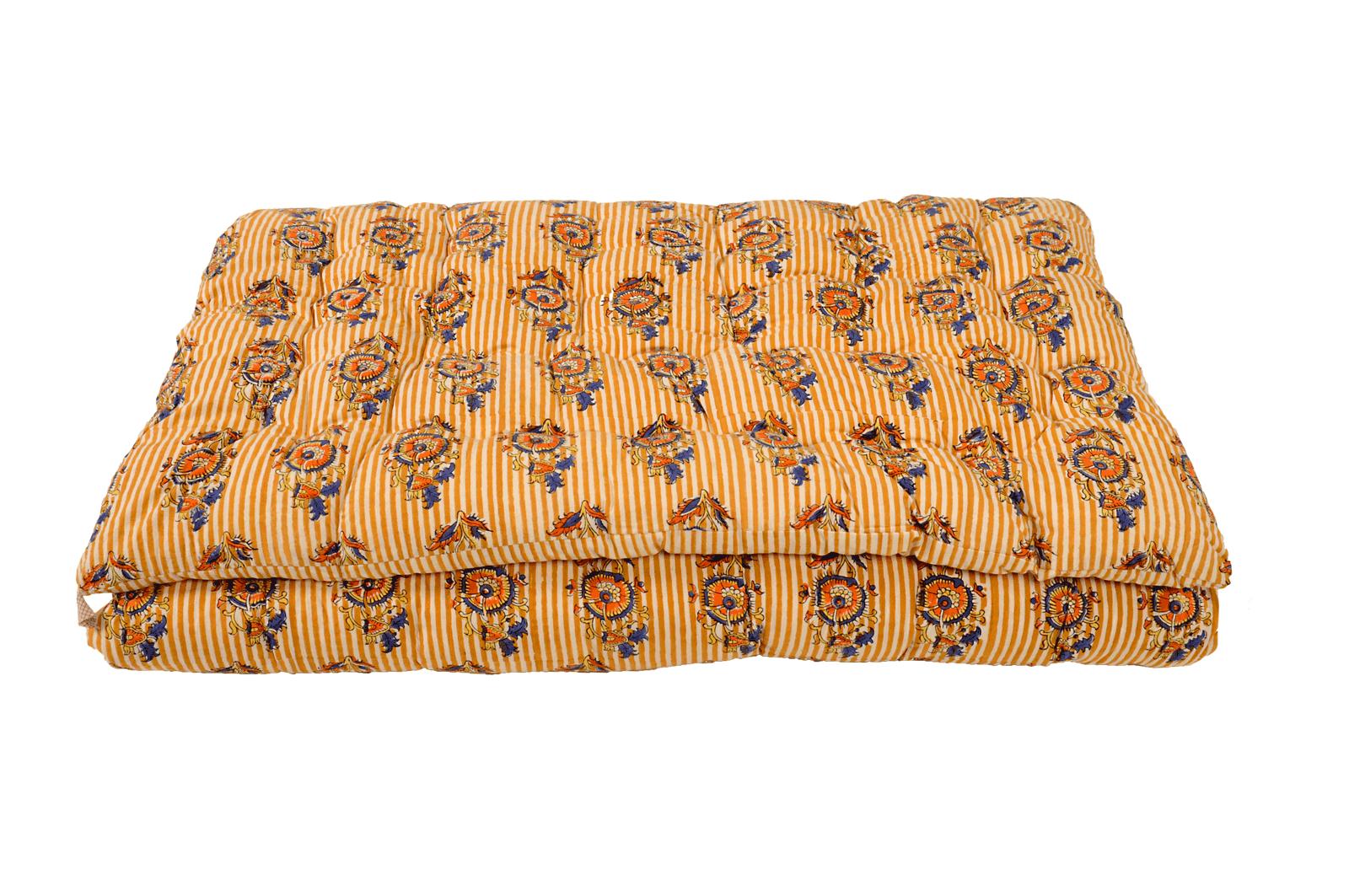 Sofacover imprimé LINEFLORAL