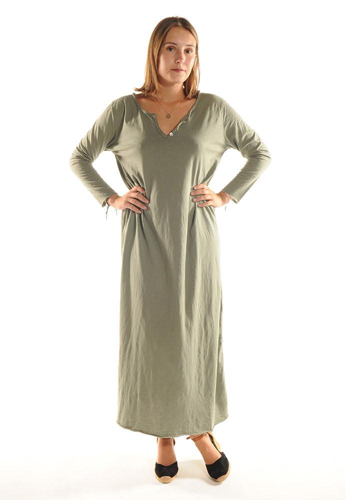 Robe longue ZINA / Kaki