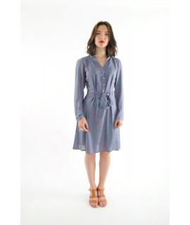 Robe 14 dress bleu