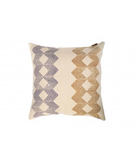 COUSSIN 50x50 CHANDIGARH / violet ocre