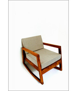 ROCKING CHAIR GRIS