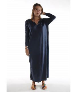 Robe longue ZINA / Marine