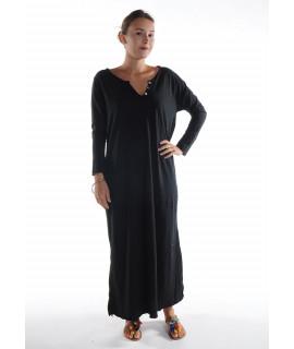Robe longue ZINA / Noir
