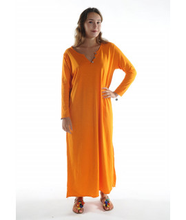 Robe longue ZINA / Orange