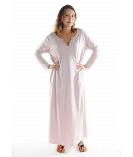 Robe longue ZINA / Rose