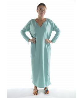Robe longue ZINA / Vert d'eau