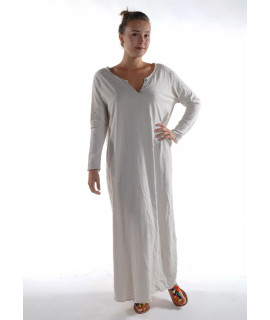 Robe longue ZINA / Beige