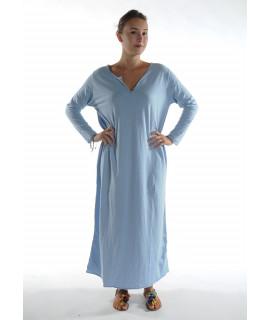 Robe longue ZINA / Ciel