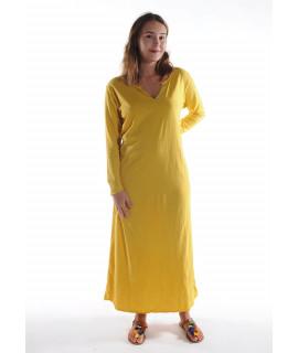 Robe longue ZINA / Jaune