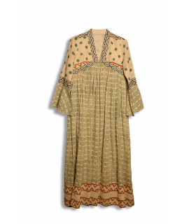 Robe longue JANIS motif SUZY