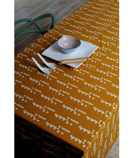 NAPPE ALL OVER 170x170 OCRE