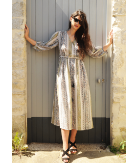Longue robe ROMEA / Kaki