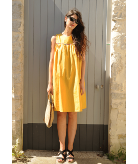 Robe JULIANA / Jaune