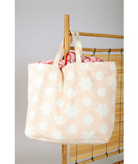 TOTE BAG BIG / ORCHID