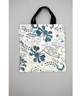 TOTE BAG FLORAL ANTIQUE