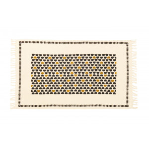 Tapis Half Moon / Moutarde